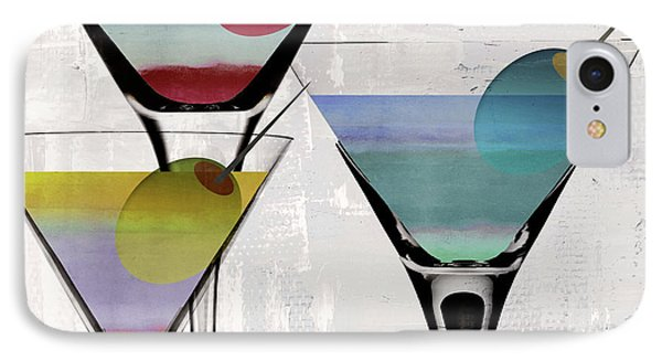 Martini Prism IPhone Case by Mindy Sommers