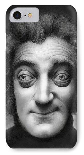 Marty Feldman IPhone Case by Greg Joens