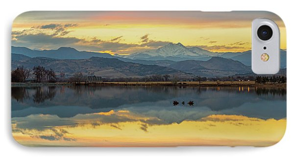 IPhone 7 Case featuring the photograph Marvelous Mccall Lake Reflections by James BO Insogna