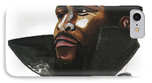 Marvin Gaye IPhone Case by Emmanuel Baliyanga