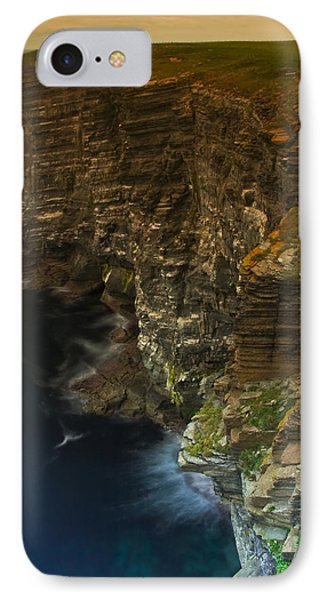 IPhone Case featuring the photograph Marwick Head Orkney Scotland by Gabor Pozsgai