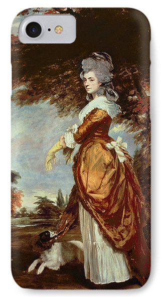 Mary Amelia First Marchioness Of Salisbury Phone Case by Sir Joshua Reynolds