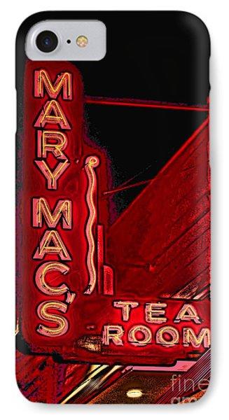 Mary Macs Resturant Atlanta Phone Case by Corky Willis Atlanta Photography