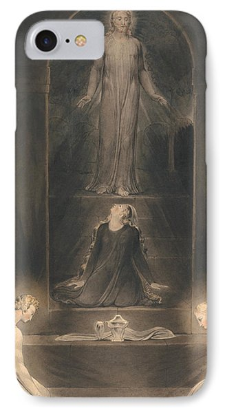 Mary Magdalen At The Sepulcher IPhone Case by Mountain Dreams