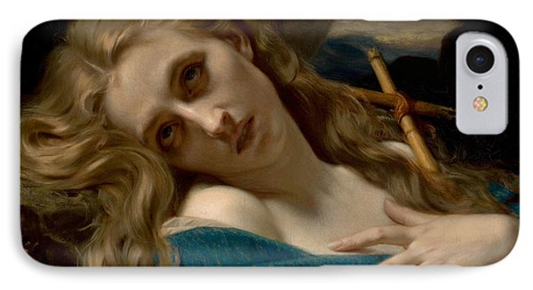 Mary Magdalene In The Cave Phone Case by Hugues Merle