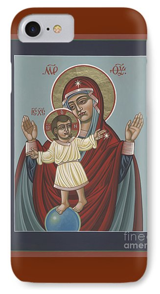 IPhone Case featuring the painting Mary, Mother Of Mercy - Dedicated To Pope Francis In This Year Of Mercy 289 by William Hart McNichols