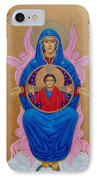 Mary Mother Of Mercy Icon - Jubilee Year Of Mercy IPhone Case by Michele Myers