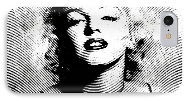 Marilyn Monroe - 04a IPhone Case by Variance Collections