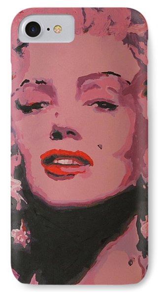 Marylin Monroe IPhone Case by Eric Dee
