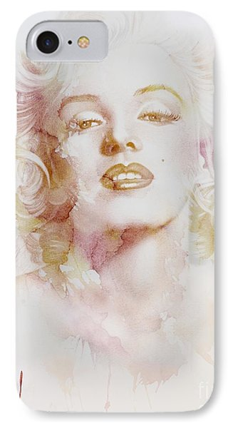 Marylin Monroe IPhone Case by Jacky Gerritsen