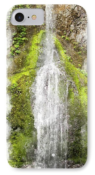 Marymere Falls Wc Phone Case by Peter J Sucy