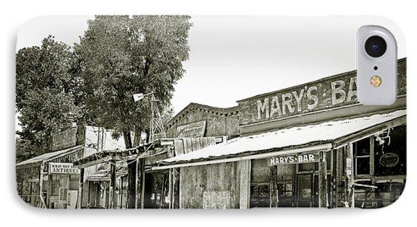 Mary's Bar Cerrillo Nm IPhone Case