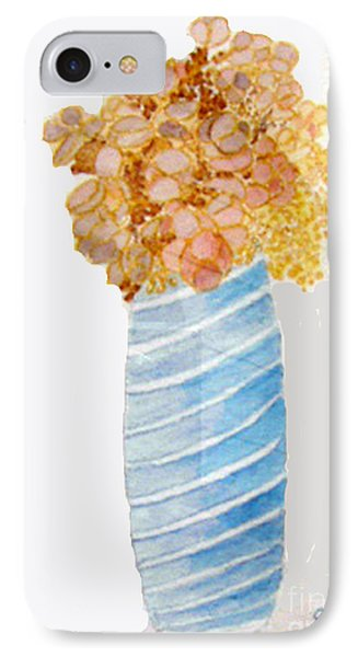 IPhone Case featuring the painting Mary's Flowers by Sandy McIntire