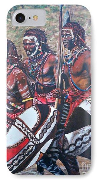 Masaai Warriors IPhone Case