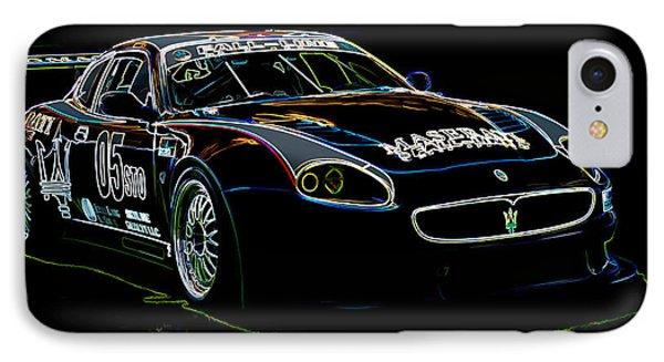 Maserati IPhone Case by Sebastian Musial