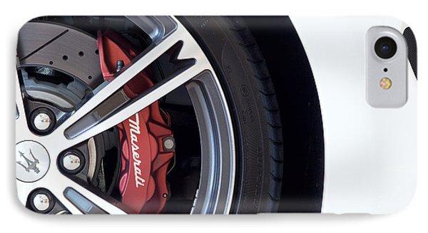 Maserati Wheel White IPhone Case
