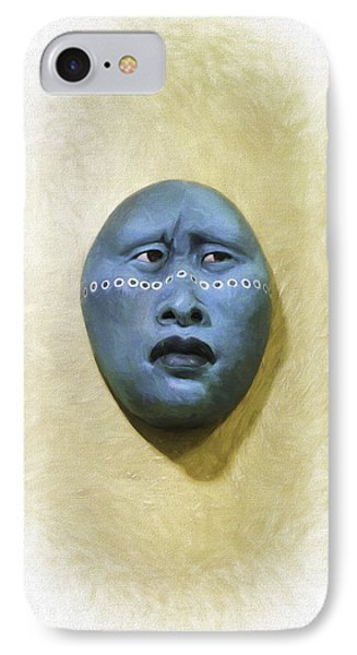Mask 1 IPhone Case by Don Lovett