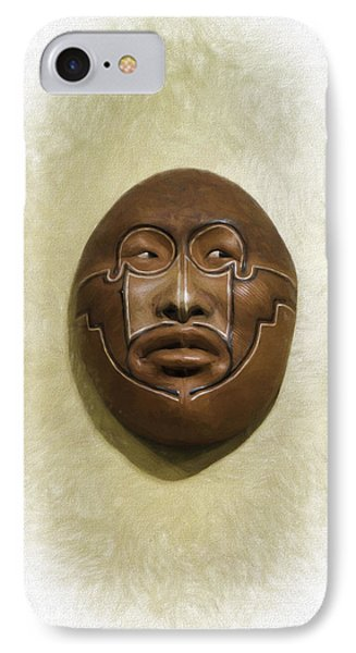 Mask 2 IPhone Case by Don Lovett