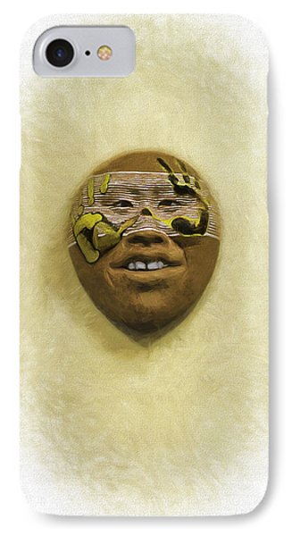 Mask 5 IPhone Case by Don Lovett
