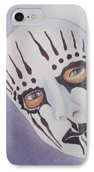 Mask I IPhone Case by Teresa Beyer