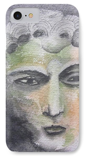 IPhone Case featuring the painting Mask II by Teresa Beyer