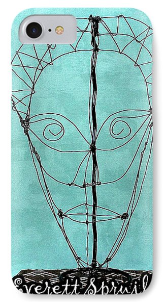 Mask Of Wire IPhone Case