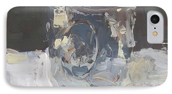 IPhone Case featuring the painting Mason Jar  by Robert Joyner