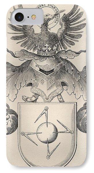 Masonic Seal IPhone Case