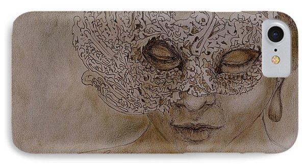 Masquerade IPhone Case by Enzie Shahmiri
