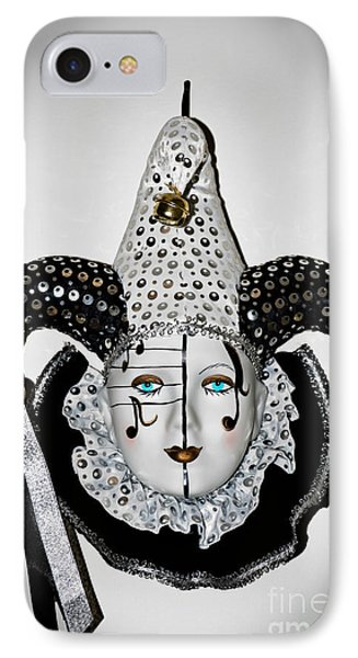 IPhone Case featuring the photograph Masquerade Mask by Yurix Sardinelly