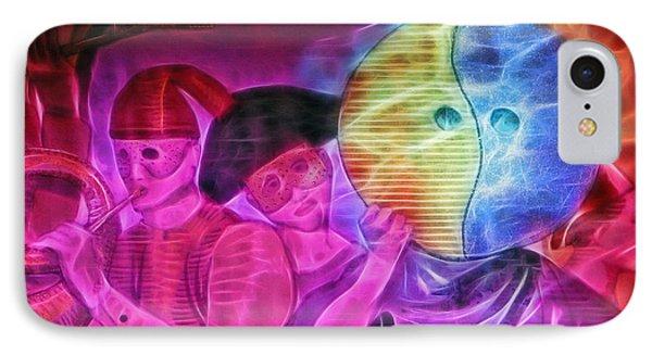 Masquerade IPhone Case by Sue Melvin