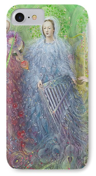 Mass For Three Voices IPhone Case by Annael Anelia Pavlova