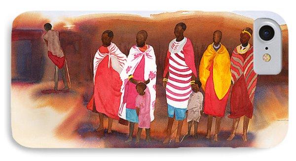 Massai Mommas IPhone Case