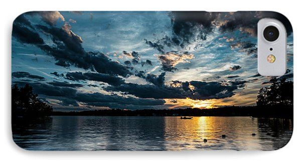 Masscupic Lake Sunset IPhone Case