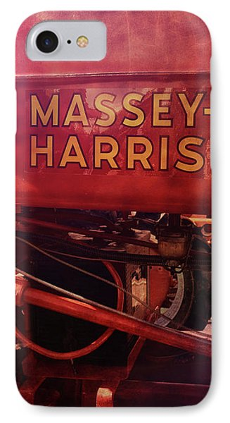 IPhone Case featuring the photograph Massey Harris Vintage Tractor by Ann Powell