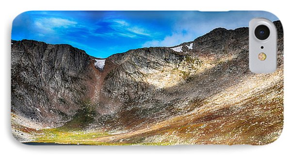 Massif Chicago Peaks Of Mount Evans 1 IPhone Case by Angelina Vick