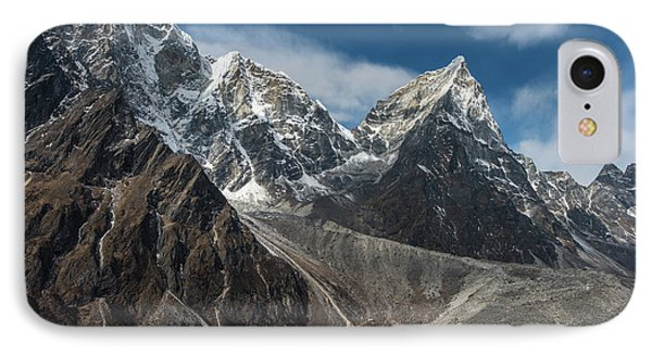 IPhone Case featuring the photograph Massive Tabuche Peak Nepal by Mike Reid