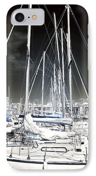 Mast Angles Phone Case by John Rizzuto