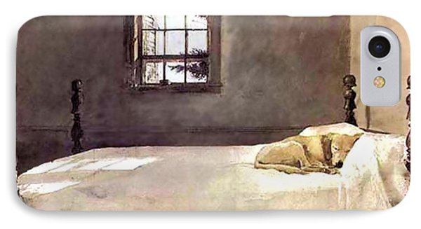 Master Bedroom  IPhone Case by Andrew Wyeth