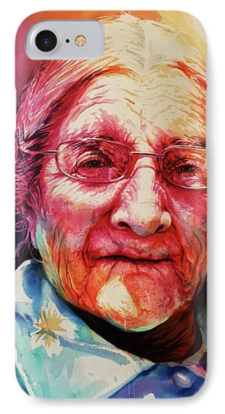 IPhone Case featuring the painting Windows To The Soul by J- J- Espinoza