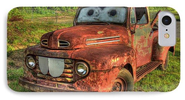 Tom Mater Truck 1950 Ford Truck Art IPhone Case