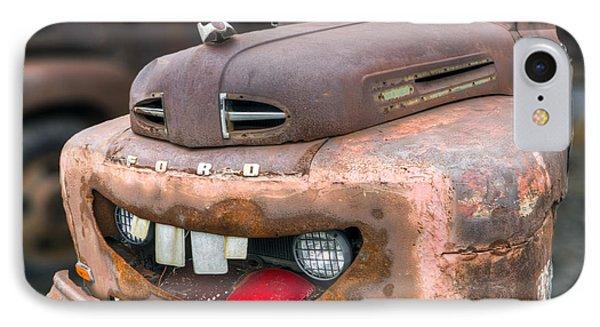 Mater From Cars 2 Ford Truck IPhone Case by Dustin K Ryan