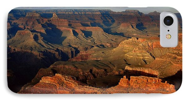 Mather Point - Grand Canyon IPhone 7 Case by Stephen  Vecchiotti