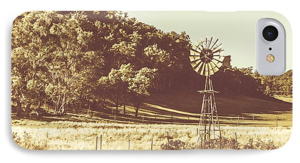 Mathinna Farmyard Field IPhone Case by Jorgo Photography - Wall Art Gallery