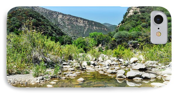 IPhone Case featuring the photograph Matilija Hot Springs by Kyle Hanson