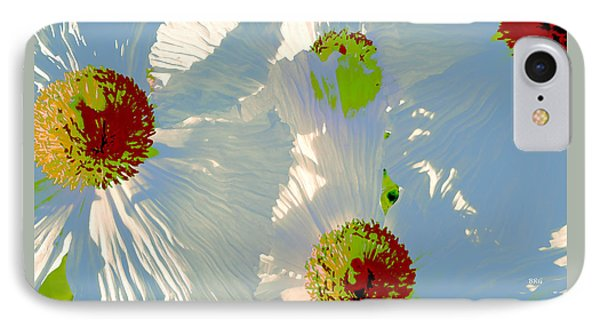 IPhone Case featuring the photograph Matilija Poppies Pop Art by Ben and Raisa Gertsberg
