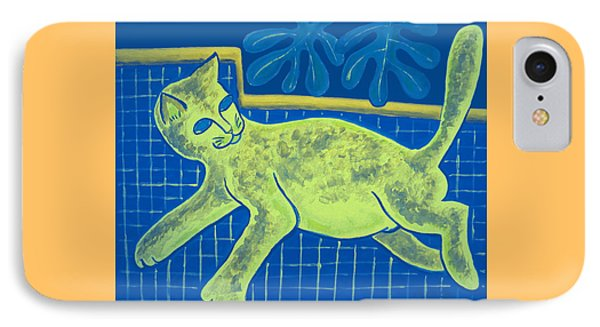 Matisse's Cat In Reverse IPhone Case