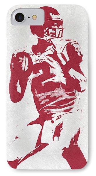 Matt Ryan Atlanta Falcons Pixel Art 2 IPhone 7 Case by Joe Hamilton