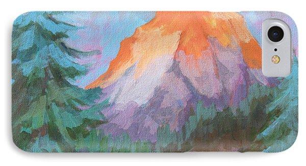 Matterhorn Sunrise IPhone Case by Diane McClary