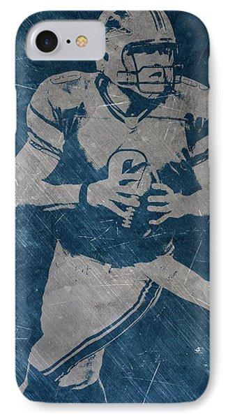 Matthew Stafford Detroit Lions IPhone Case by Joe Hamilton